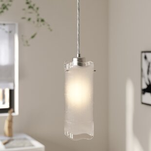 Latitude Run Conan 1-Light Cylinder Pendant