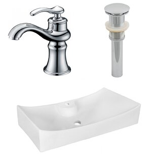 Find a Above Counter Ceramic Specialty Vessel Bathroom Sink with Faucet By Royal Purple Bath Kitchen