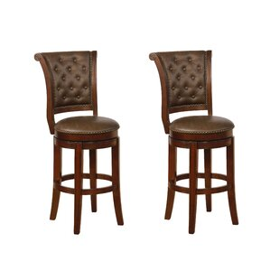 Sansome Swivel Bar and Counter Stool (Set of 2)