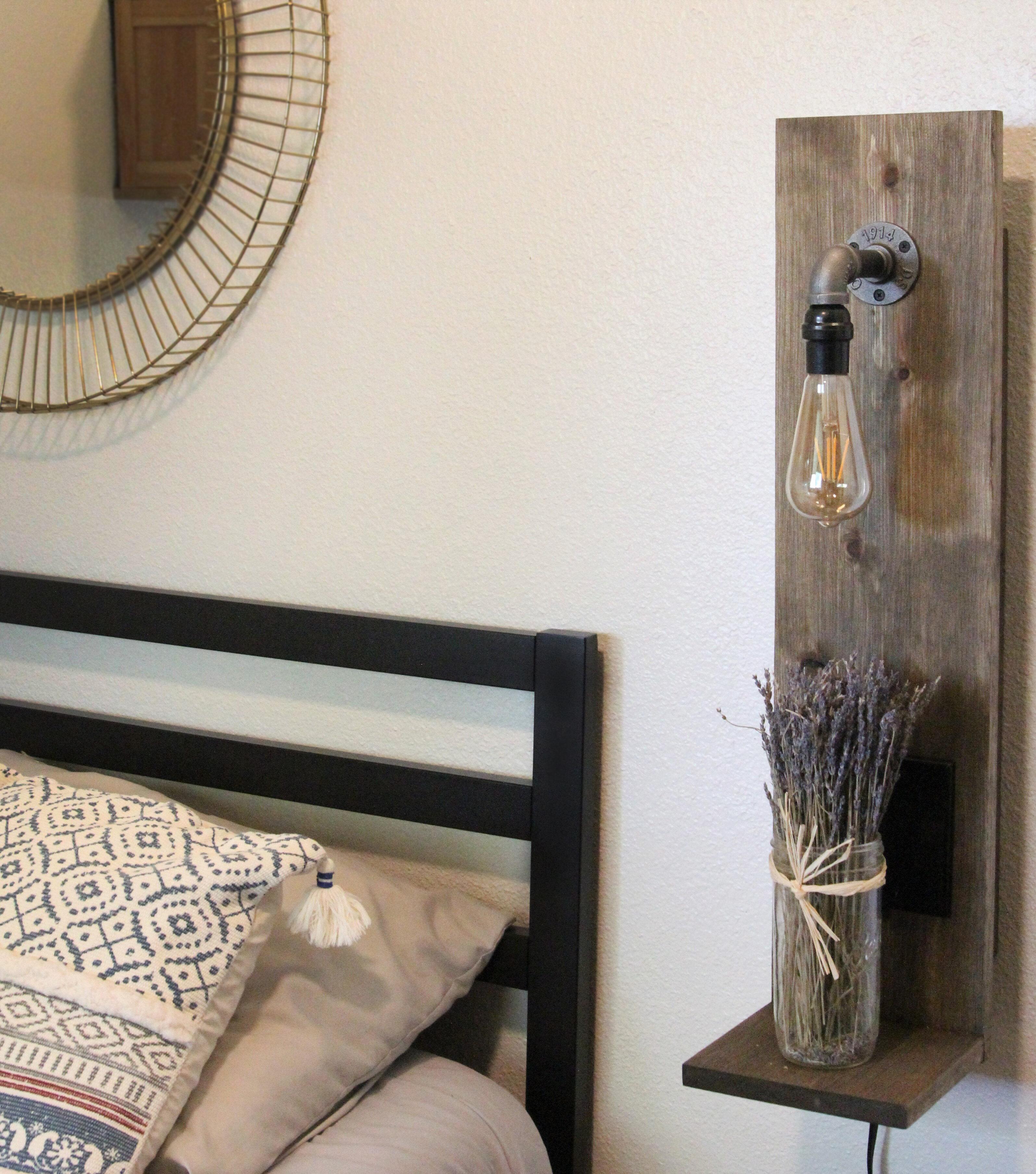 Loon Peak Mikhail Solid Wood Nightstand In Rustic Walnut Reviews Wayfair