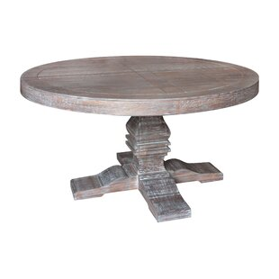 Grey Wash Round Dining Table Wayfair