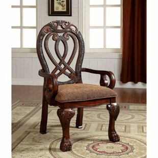 Barrymore Arm Chair (Set of 2) Astoria Grand