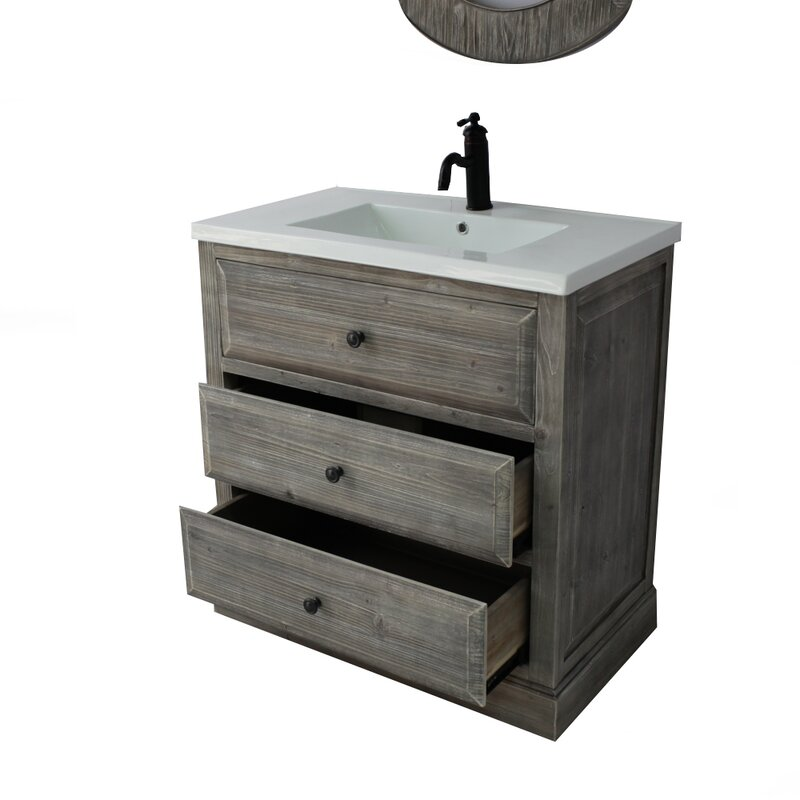 Bellevue 30 Single Sink Bathroom Vanity Set