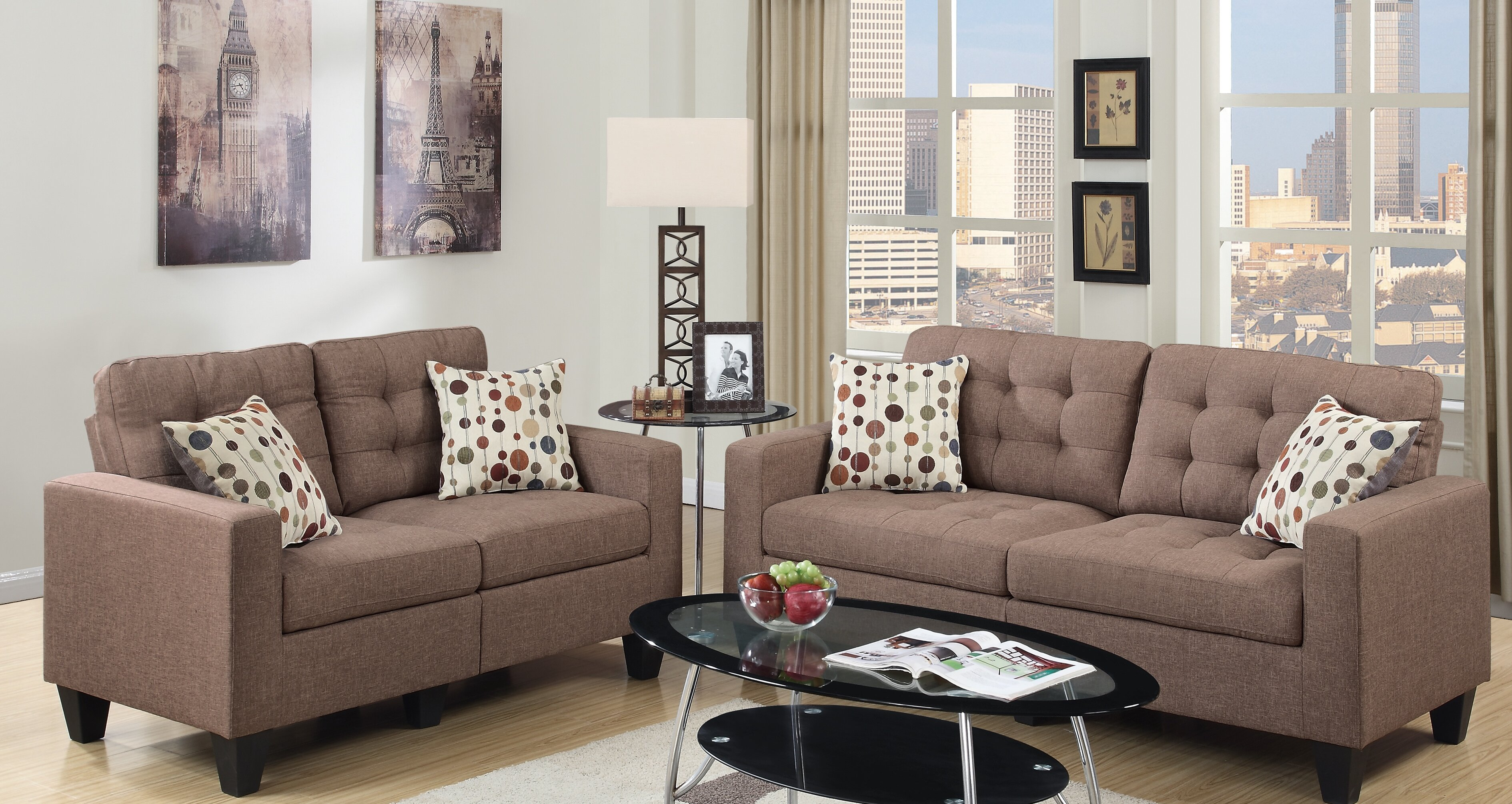 Andover Mills Callanan 2 Piece Standard Living Room Set Reviews Wayfair