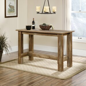 maturango counter height dining table - Rustic Dining Set