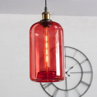 Mercury Row Briner 1-Light Cylinder Pendant