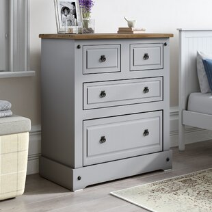 Corona Lecompte 4 Drawer Chest Of Drawers