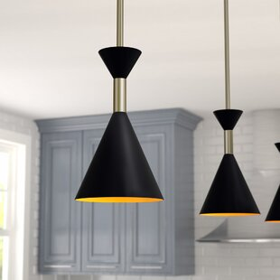 Yorba 1-Light Cone Pendant by Langley Street