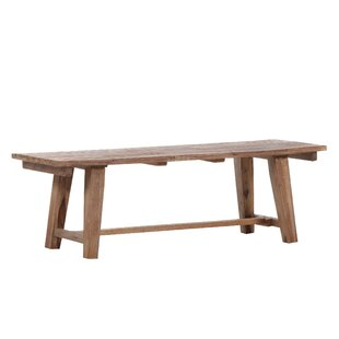 Katrina Wooden Bench By Union Rustic