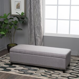 Stipe Upholstered Storage Bench