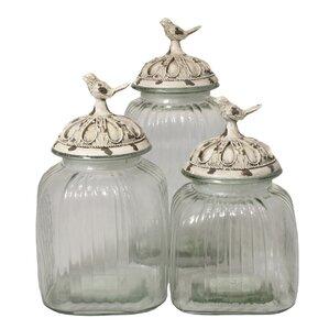 Marvelous Glass Kitchen Canisters U0026 Jars