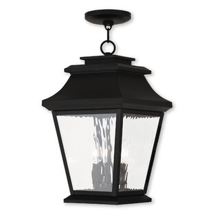 Darby Home Co Campfield 3-Light Outdoor Hanging Lantern