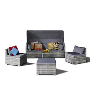 Sedgwick 5 Piece Sofa Set with Cushions
