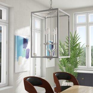 Mette 4-Light Square/Rectangle Pendant