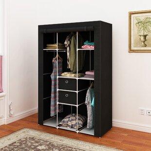 Compare Herndon 42 W Storage Wardrobe By Rebrilliant