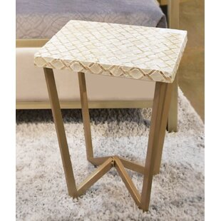 Sotomayor End Table by Bloomsbury Market