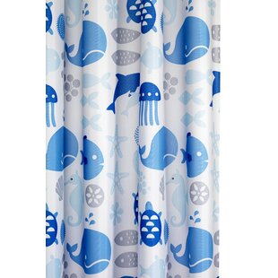 Check Prices Altitude Coast Textile Shower Curtain By Highland Dunes