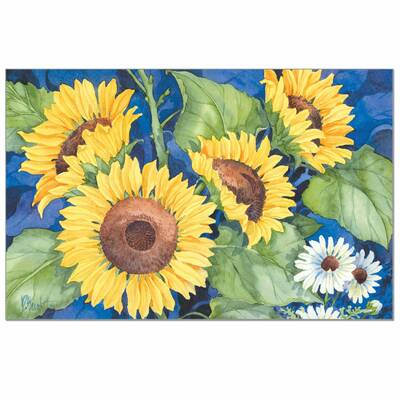 CLUB GREEN 24 STICKERS FREE POSTAGE SELF ADHESIVE CRYSTAL SUNFLOWER