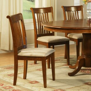 Portland Solid Wood Dining Chair (Set of 2) East West Furniture