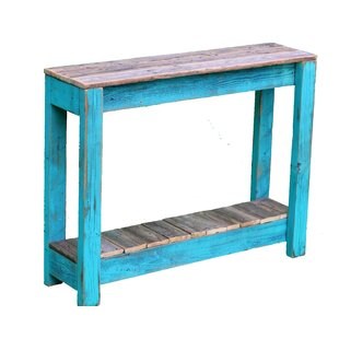 Superbe Aqua Console Table | Wayfair