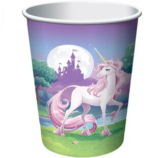 Unicorn Fantasy Paper Disposable Every Day Cup