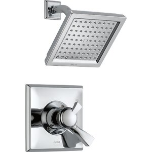 Dryden Shower Faucet with Lever Handle and H2okinetic Technology