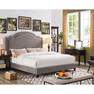 Ackermann Upholstered Platform Bed by DarHome Co Top Reviews