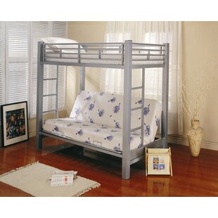 Eddyville Twin over Full Bunk Bed with Built-In Ladder by Wildon Home®