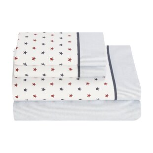 Union Stars 180 Thread Count Sheet Set by Tommy Hilfiger