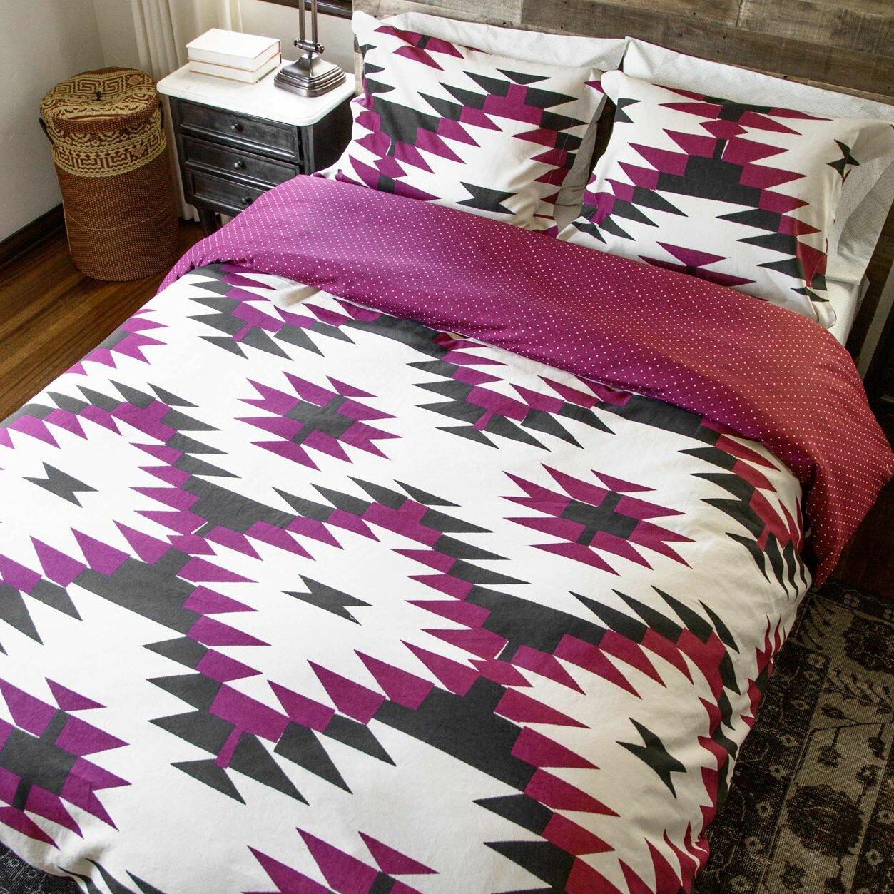 Thread Experiment David Hart 2 Piece Reversible Comforter Set Wayfair