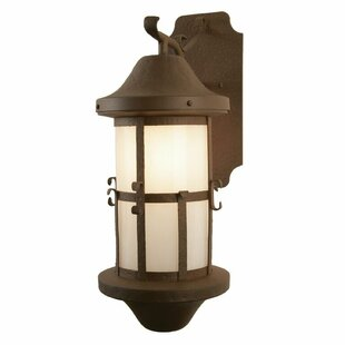 Bargain Catalina 1-Light Outdoor Wall Lantern By Steel Partners