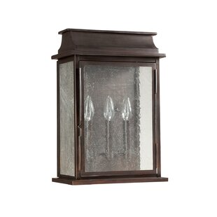 Nikhil 3-Light Outdoor Flush Mount