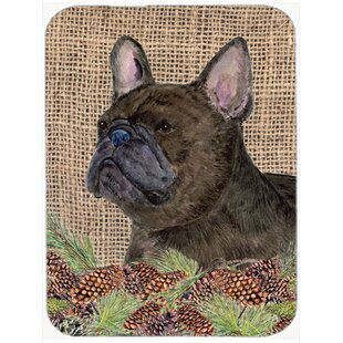 French Bulldog Glass Cutting Board By Caroline's Treasures