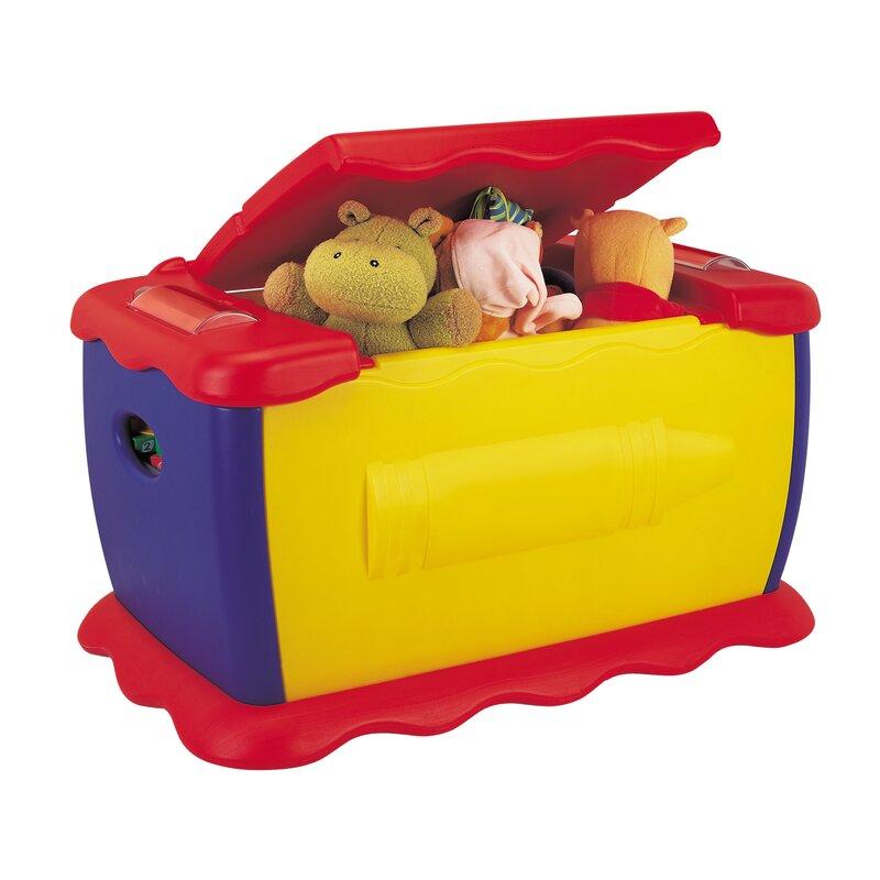 Grow 'n Up Crayola Toy Box & Reviews | Wayfair