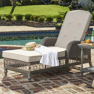 Paula Deen Home Dogwood Chaise Lounge with Cushion