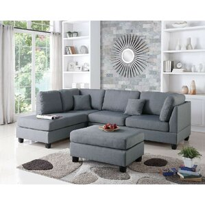 living room sectionals. Bibler Reversible Sectional with Ottoman Sofas