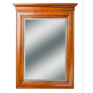 Price Check Aiyana Rectangle Wood Vanity Mirror By Bayou Breeze