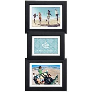 Black Bevel Panel Picture Frame