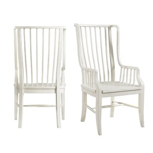 August Grove Miner Solid Wood Dining Chair (Set of 2)