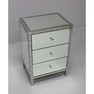 Compare prices Brookmount 3 Drawer Nightstand ByHouse of Hampton