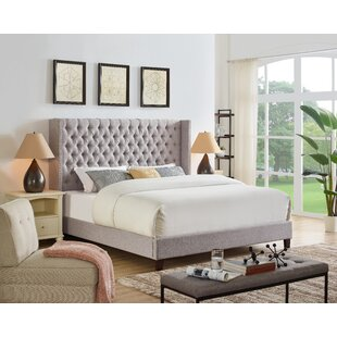 Abston Upholstered Platform Bed by Darby Home Co