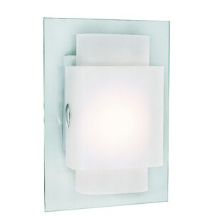 Reviews Amadi 1-Light Rectangles Wall Sconce By Orren Ellis
