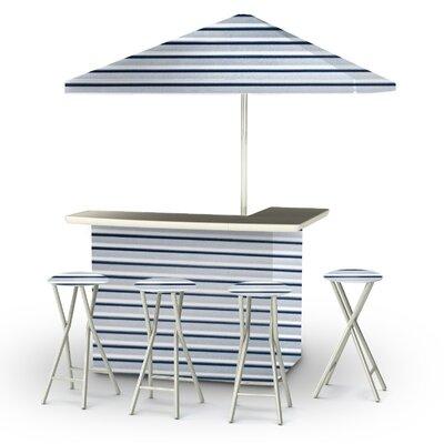 Gunnar 8 Piece Bar Set by Rosecliff Heights New Design