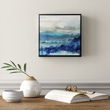 'Sea Swell I' Painting on Canvas