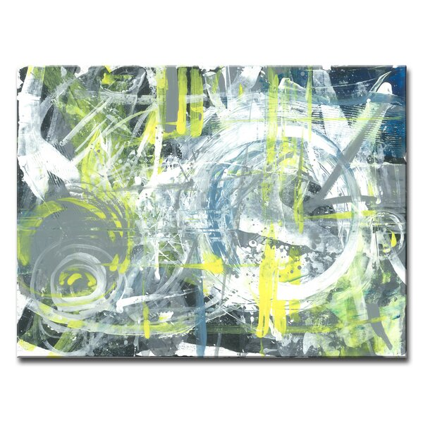 ArtWall Dean Uhlinger 4 Piece Like a Flame Gallery-Wrapped Canvas Staggered Set 24 by 36