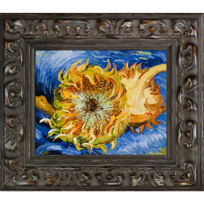 Bloomsbury Market Two Cut Sunflowers By Vincent Van Gogh Framed
