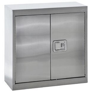 Stainless Steel 2 Door Storage Cabinet