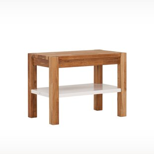 Watauga Wood Storage Bench