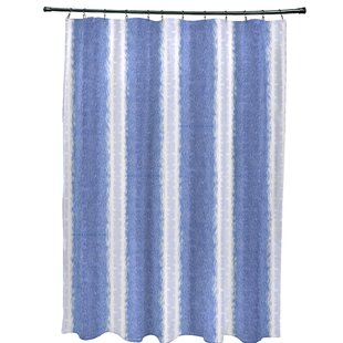 Inexpensive Navarro Lines Shower Curtain ByEbern Designs