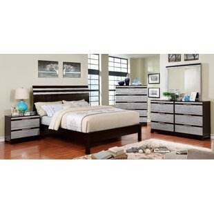 Brayden Studio Caywood Contemporary Panel Bed